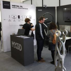 MX3D booth at FormNext 2019